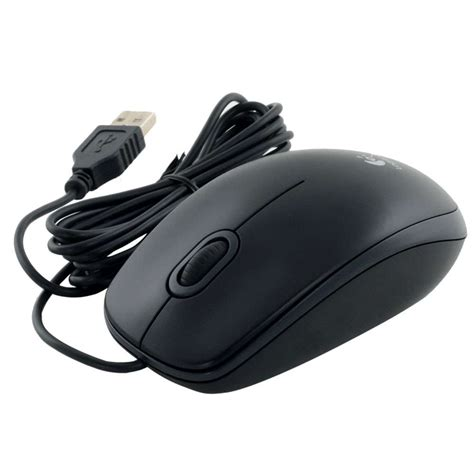 Logitech B100 Optical Usb Mouse logitech b100 usb optical mouse precision 800dpi black