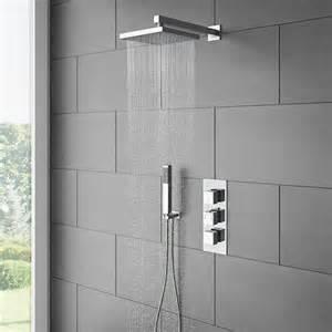 dusche gemauerte dusche als blickfang im badezimmer vor und