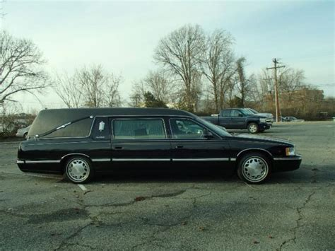 Funeral Limo by 1999 Cadillac Hearse Funeral Limo