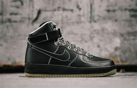 nike air 1 high 07 quot black gum quot work boot eu