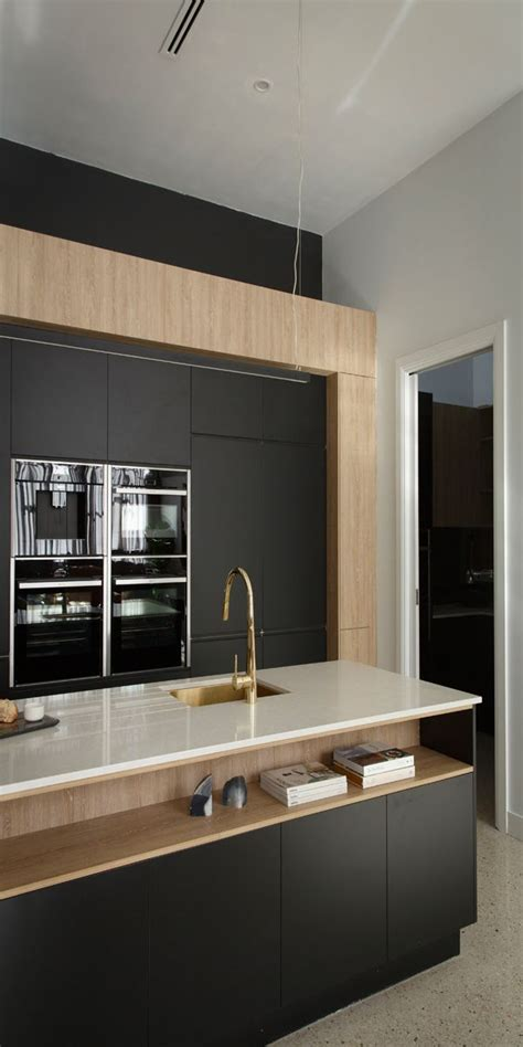 modern kitchen island design ideas 17 best ideas about black kitchens on