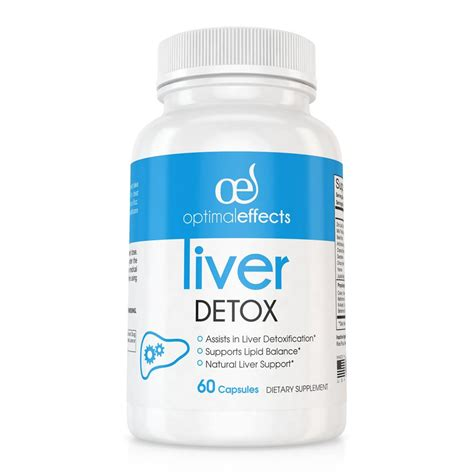 Detox Effects by Optimal Effects Liver Detox