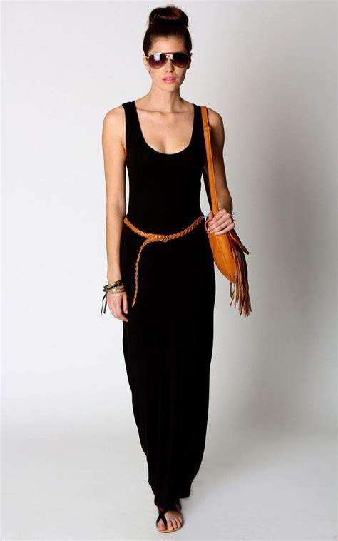 Maxi Dres 3 black maxi dress to wear this summer