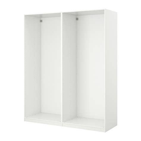 pax 2 caissons armoire 150x58x236 cm blanc ikea