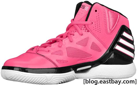 eastbay adidas basketball shoes adidas adizero 2 5 pink black white eastbay