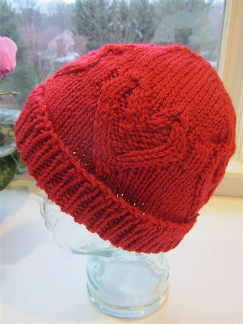 heart hat pattern heart knitting patterns in the loop knitting
