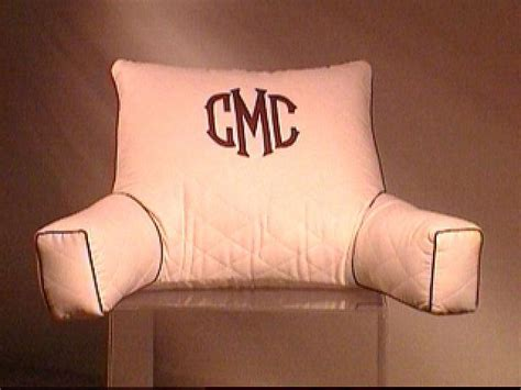 personalized bed rest pillow monogramming at home rumah minimalis