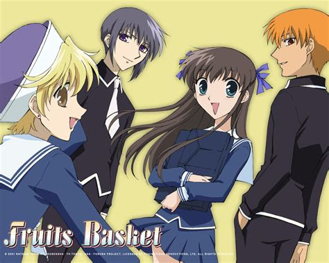 fruits basket mini reviews fruits basket ghost hunt ouran high school