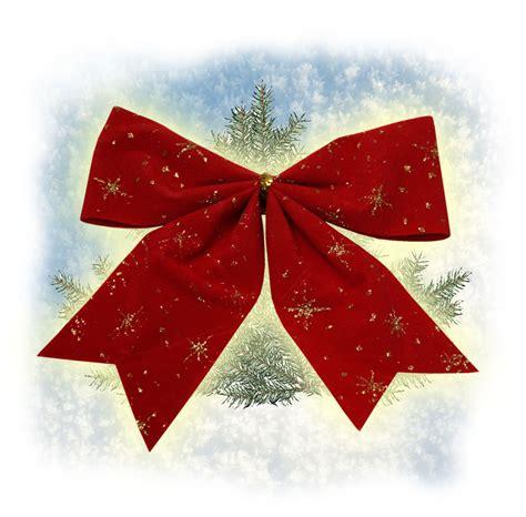 10 deko schleifen weihnachten weihnachtsbaum 14cm rot ebay