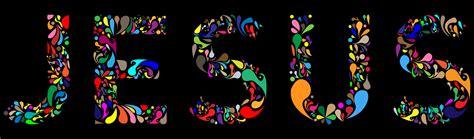 typography jesus clipart jesus typography 4