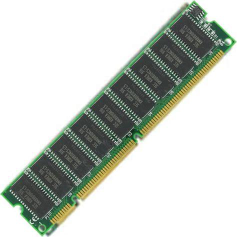 Ram Pc133 100 128 64mb 128mb pc100 168 pin dimm cl2