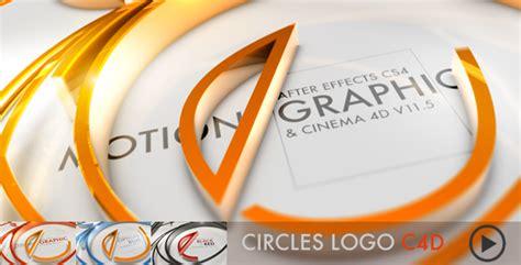 videohive cinema 4d templates free circles logo c4d cinema 4d templates videohive
