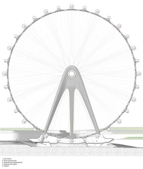 designboom wheel unstudio envision nippon moon giant observation wheel japan
