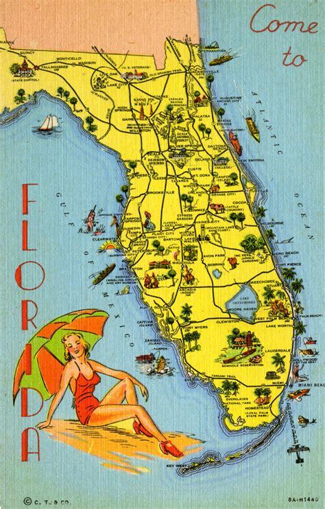 map destinations florida florida memory map of florida pointing out various