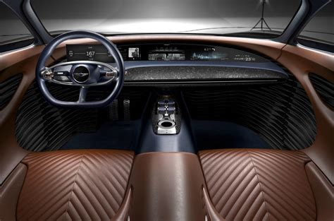 cost of interior stylist genesis essentia concept previews electric gt set autocar