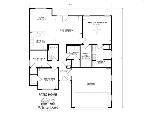 patio floor plan patio home floor plans greenland modeled new home floor