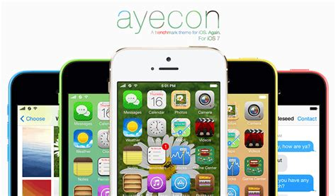 new themes cydia 2014 ayecon for ios 7 best cydia theme available now