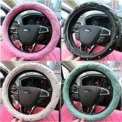 Steering Wheel Covers Big Lots Popular Rhinestone Covered Steering Wheel Cover Buy Cheap