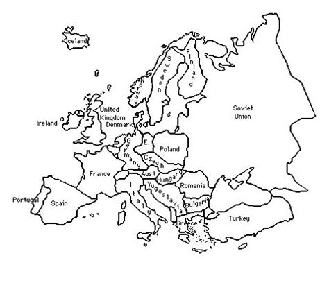 printable world war 2 map of europe outline of europe during world war 2 title of lesson an