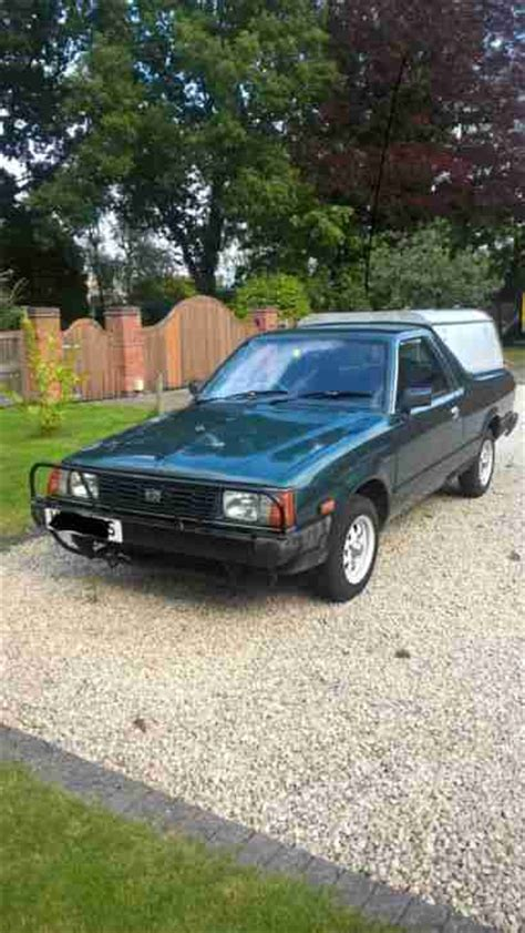 subaru 4x4 subaru 4x4 up 1800cc brat car for sale