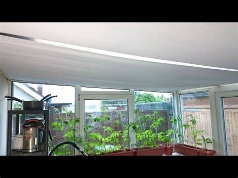Lean To Conservatory Blinds Diy Conservatory Sun Roof Blinds Sloping Roof Covering 6