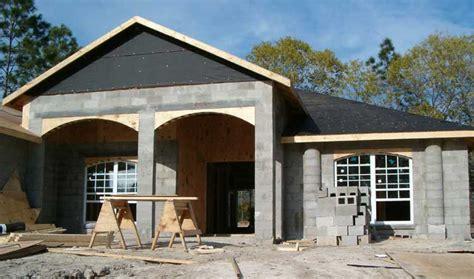 Concrete Block Houses by House Construction Concrete Block House Construction