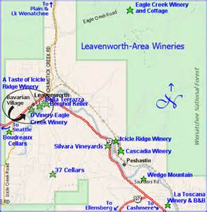 Leavenworth Washington Map by Leavenworth Washington Map