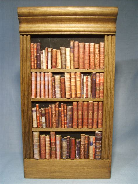false bookcase ber the miniature
