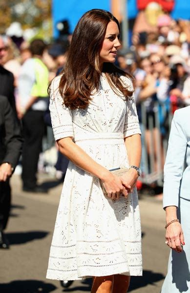 Kate Goes On You by Kate Middleton S White Royal Tour Dress Goes On Sale