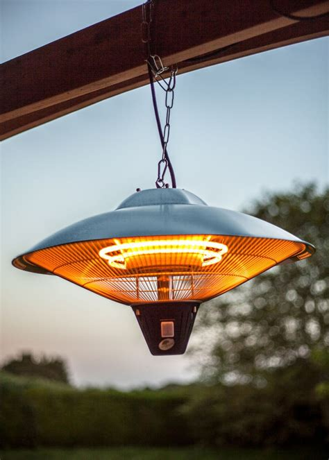 hanging patio heaters hanging patio heater halogen element 2100w savvysurf co uk