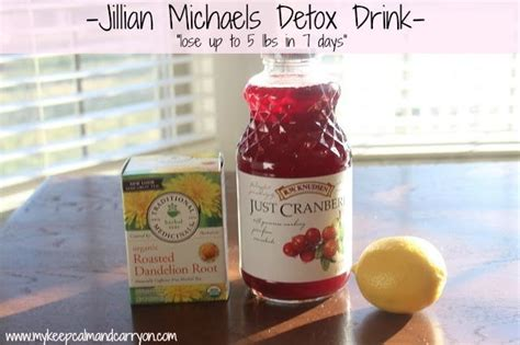 Jillian Detox Drink by Jillian Detox Drink Keep Calm Carry On