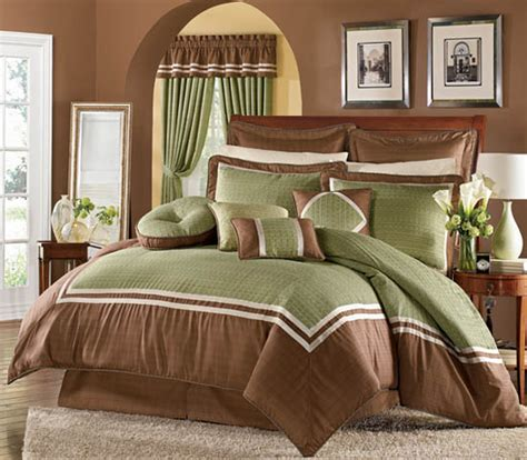 Brown And Green Bedroom | green and brown master bedroom decorating ideas home