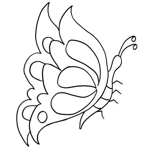 imagenes de mariposas lindas para colorear dibujos de mariposas para colorear