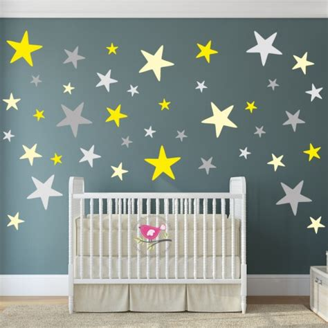 Modern Nursery Wall Decals Modern Geometric Nursery Wall Sticker
