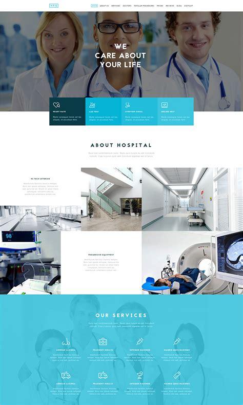 Drupal Themes Hospital | 9 health drupal themes free premium templates