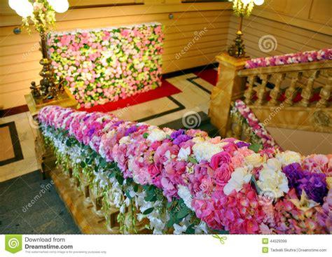 Beautiful Flower Decoration by Beautiful Decoration Stock Photo Image 44529399