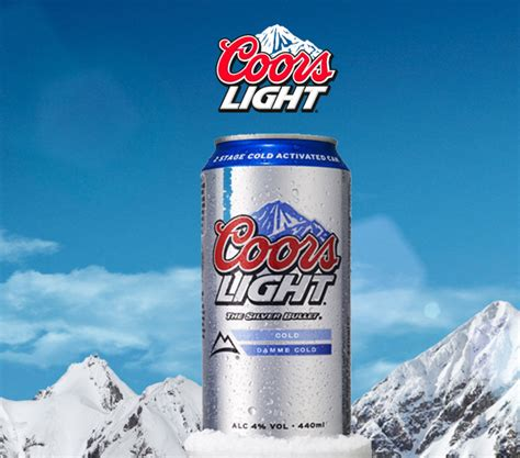 coors light cold hard coors light gets damme cold with new caign scottish
