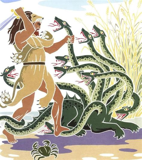 tag mythologie unknown artist the hydra of lerna tags hercules