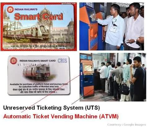 smart card machine atvm for mumbai local trains local ticket smart