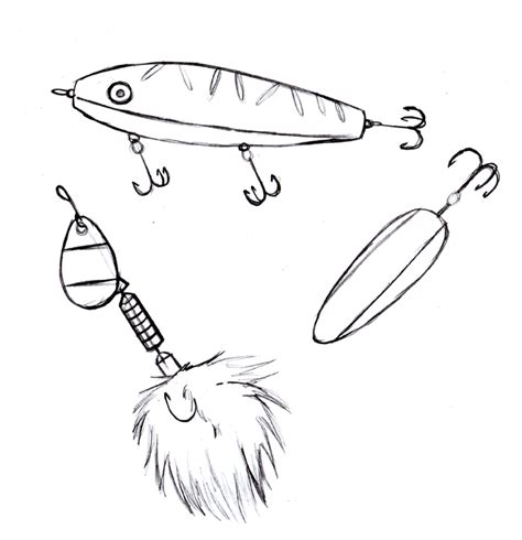 coloring pages fishing lures fly fishing lures coloring pages