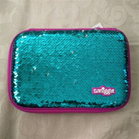 Smiggle Scented Fluffy Reversible Purse alya arina s items for sale on carousell