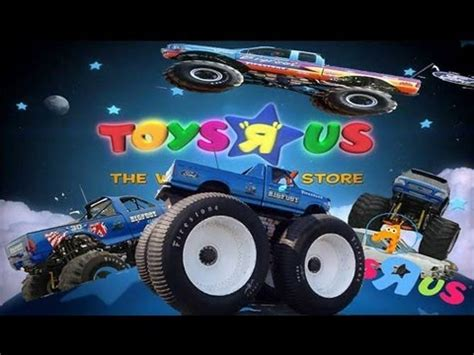 toy bigfoot monster truck bigfoot monster truck at toys r us youtube