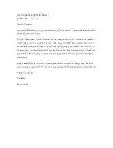 Retirement Letter To Company by Retirement Letter Hashdoc