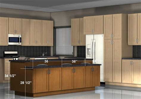 kitchen island configurations storage on both sides with different heights