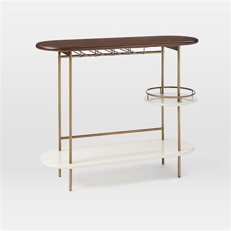 bar console tiered bar console west elm