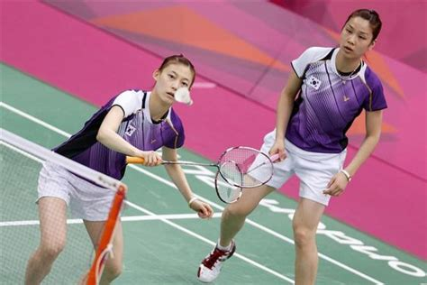 Playes Of Mba That Play On Korea by South Korea S Jung Kyung Eun And Ha Na Play Against