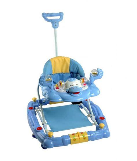Babyelle 0188 Baby Walker 2 In 1 Blue Alat Bantu Jalan Baby Walker mee mee baby walker with rocker function 2 in 1 blue buy mee mee baby walker with rocker