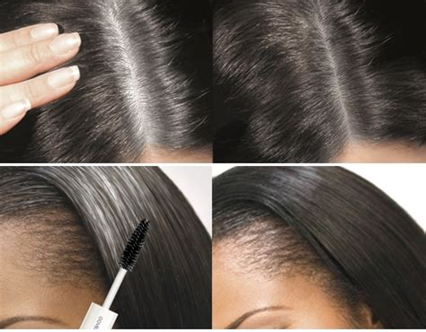 styling gel that covers grey hair cover your gray cyg brush in haarmascara