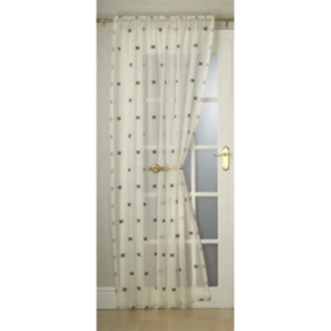the range voile curtains milan single voile curtain
