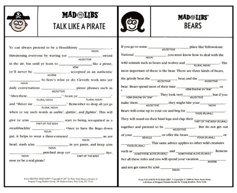 printable road trip mad libs best 25 mad libs for adults ideas on pinterest mad libs